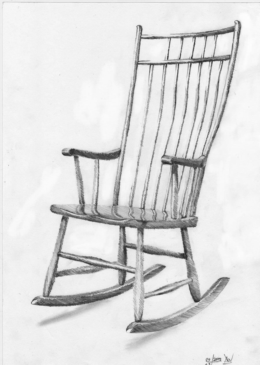 Easy Things To Draw  How to Draw a Chair