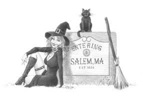 Entering Salem by miketcherry