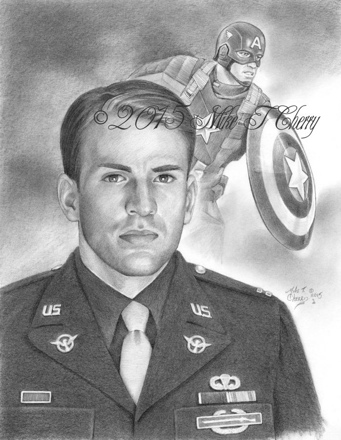Cpt America by miketcherry