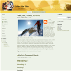 Adventure theme full width by wastematerials