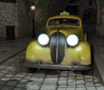 The Creepy Cab by kummindrottning