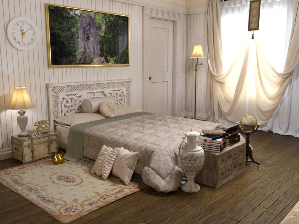 The bed chamber of Lady Vivana I