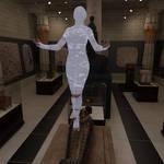 The Mummy Rises by kummindrottning