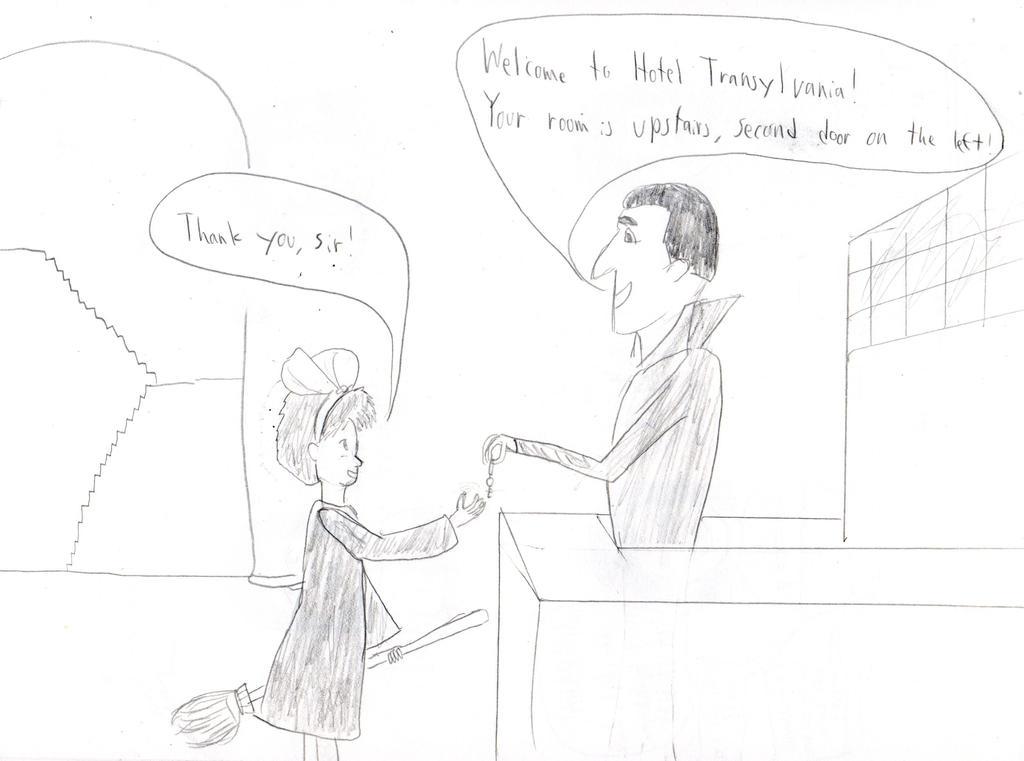 Kiki goes to Hotel Transylvania by grasimpson