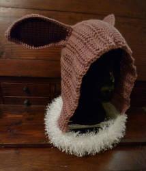 Eevee Hooded Cowl by Woolverine23