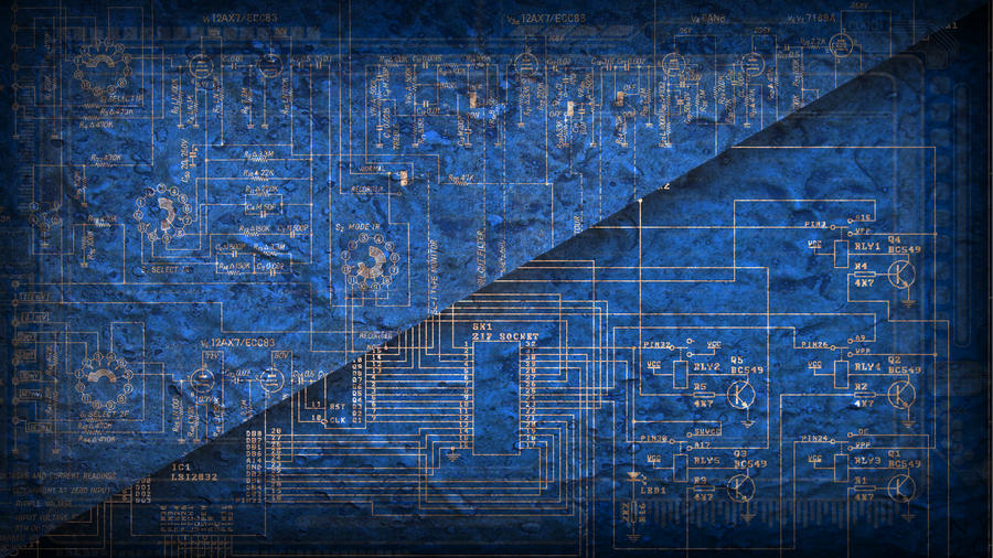 gallery for circuit board wallpaper