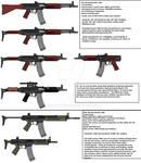 5.9x43mm assault rifles