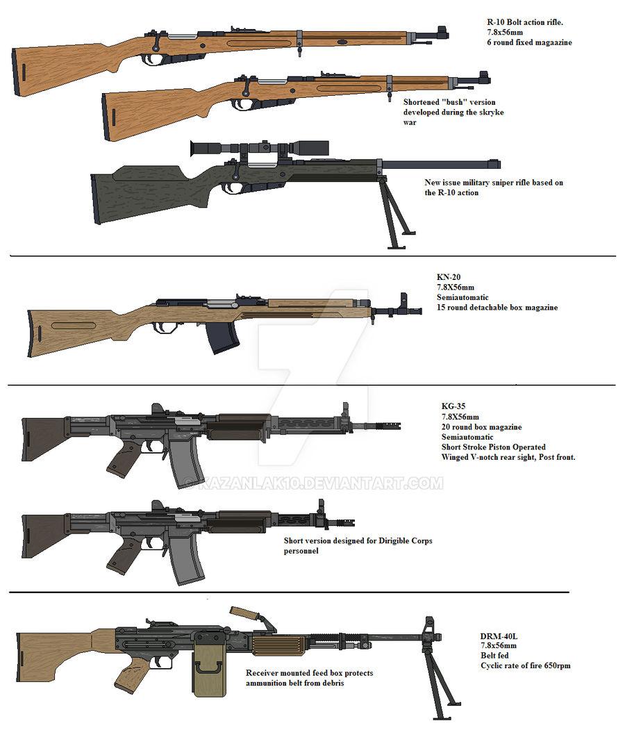 7 8mm Weapons By Kazanlak10 On Deviantart
