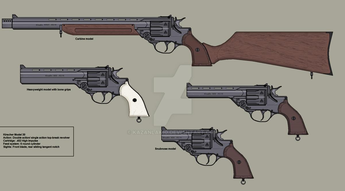 The Guns of Araea: Model 30 by Kazanlak10