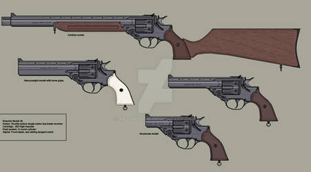The Guns of Araea: Model 30