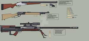 The Guns of Araea: Big Bores