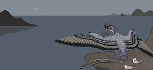 Graffam's fishing dragon