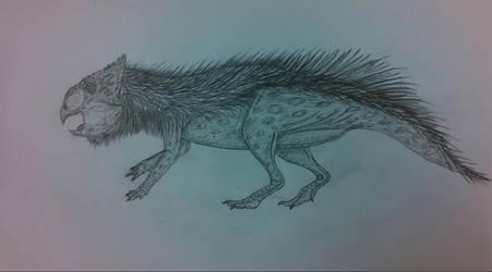 Pencil Leptoceratops
