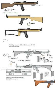 WIP: Machine-carbine Mania