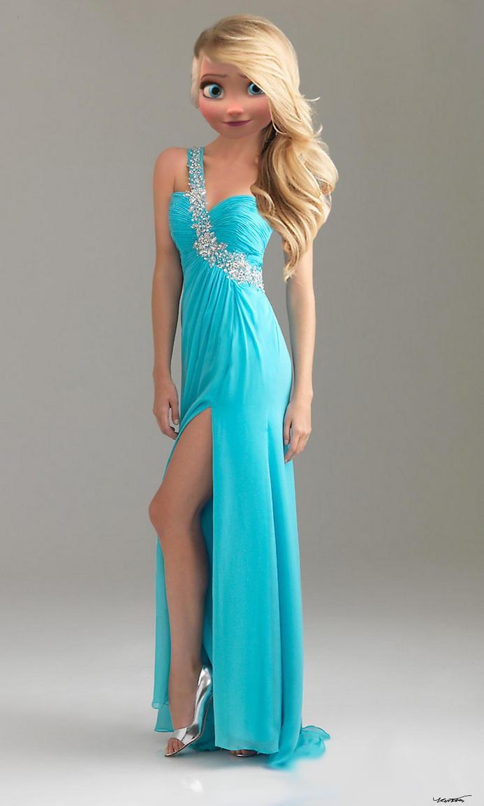 Elsa\'s Prom Dress by The-Grey-Ranger on DeviantArt