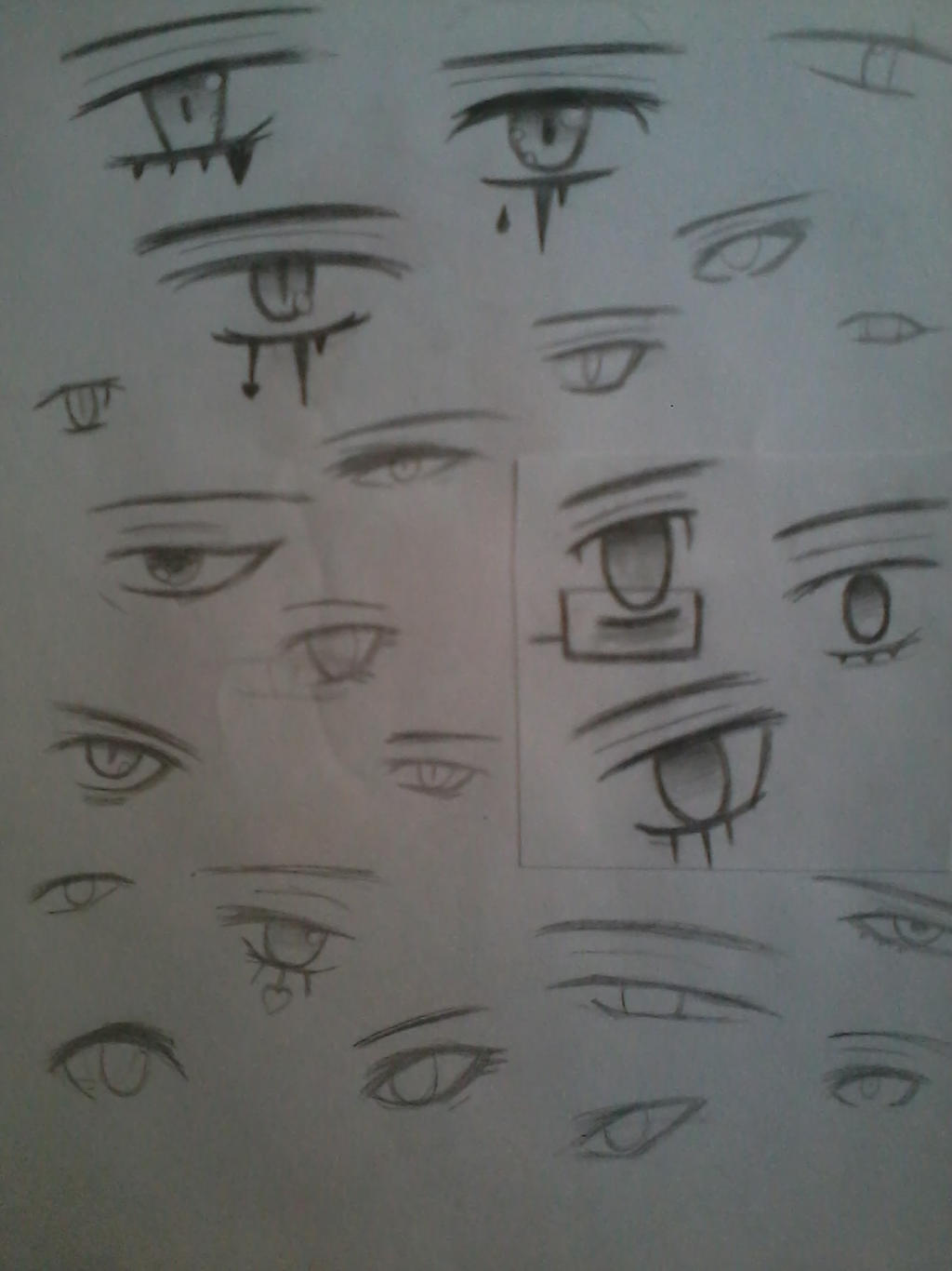 And More Eyes!! ^^ by ApocalypseBloodStars