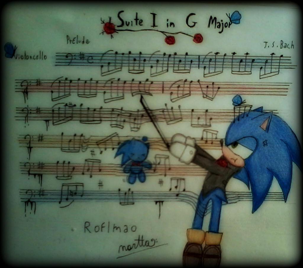 Violoncello ~ Suite in G major, Bach by ApocalypseBloodStars