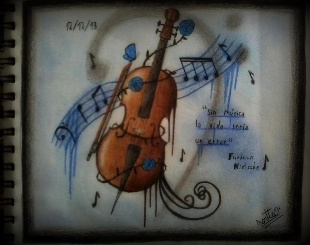 Violoncello ~ by ApocalypseBloodStars