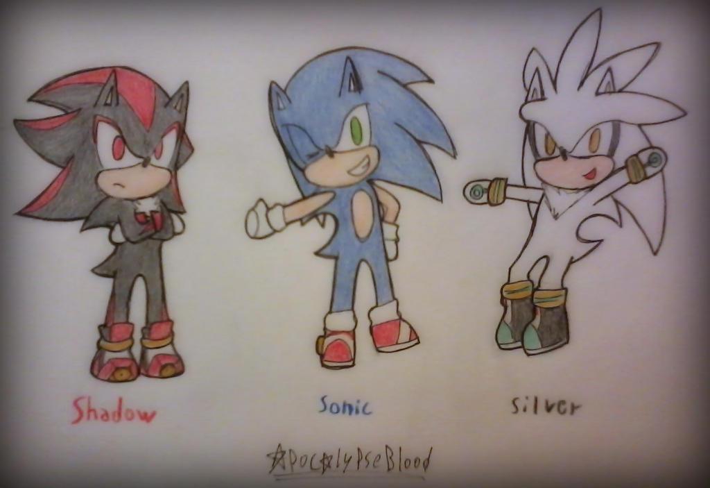 Chibi! Triple S by ApocalypseBloodStars