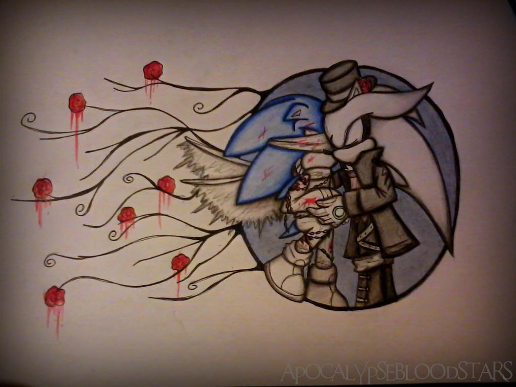 goth kiss by ApocalypseBloodStars