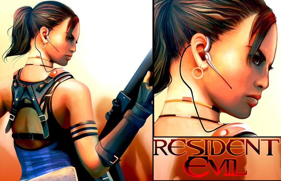 RESIDENT EVIL 5 by daihaa-wyrd