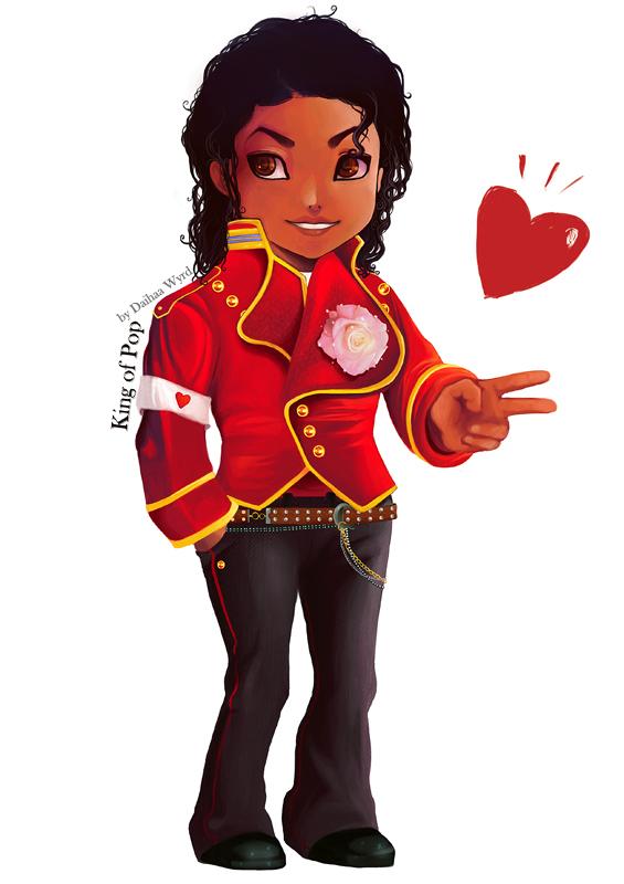 chibi Michael Jackson by daihaa-wyrd