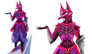 pink Exoskeleton