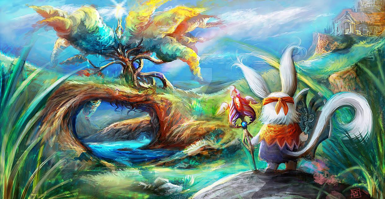 The journey by daihaa-wyrd