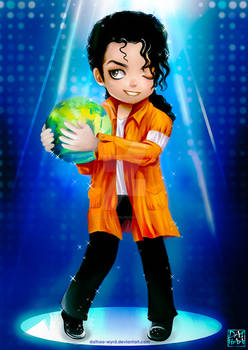 Michael Jackson chibi anime