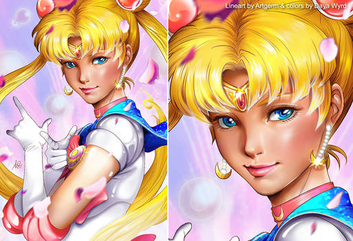Sailormoon Artgerm contest
