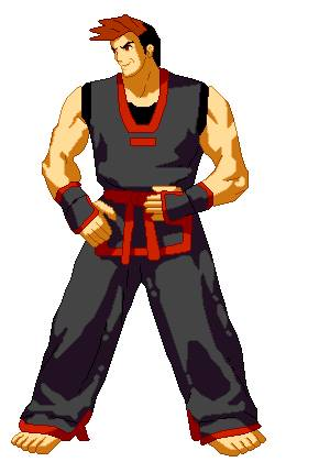 kim dong hwan from garou mark of the wolves by arcangelwolf on deviantart kim dong hwan from garou mark of the