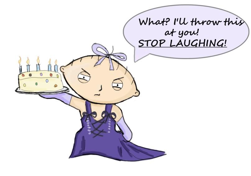 Happy birthday stewie