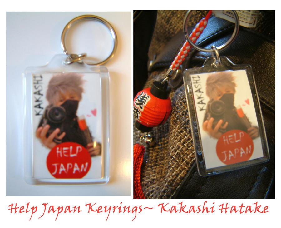 Kakashi Help Japan Keyring by firecasterx2