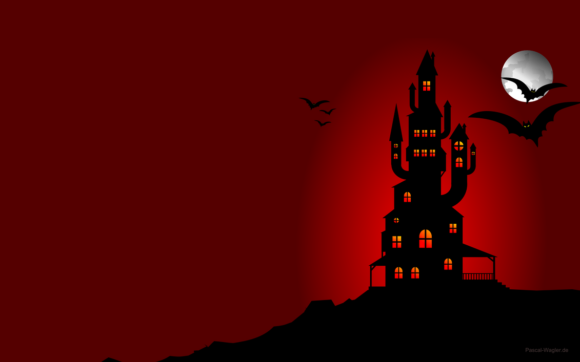 Horror House Wallpaper by Prudentity