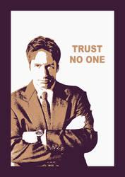 Fox Mulder - Trust No One