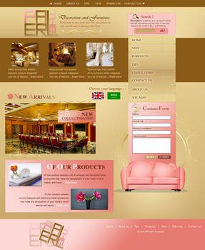 The Pearl New Design main page
