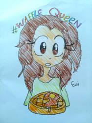 Dat Waffle Queen by EmiCherriSoda