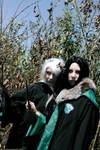 Lucius and Bellatrix past era by Lucilla665