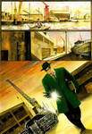 Green Hornet - Page test 1