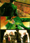 Green Hornet - Page test 3