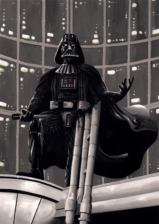 Darth Vader comission by donbarata