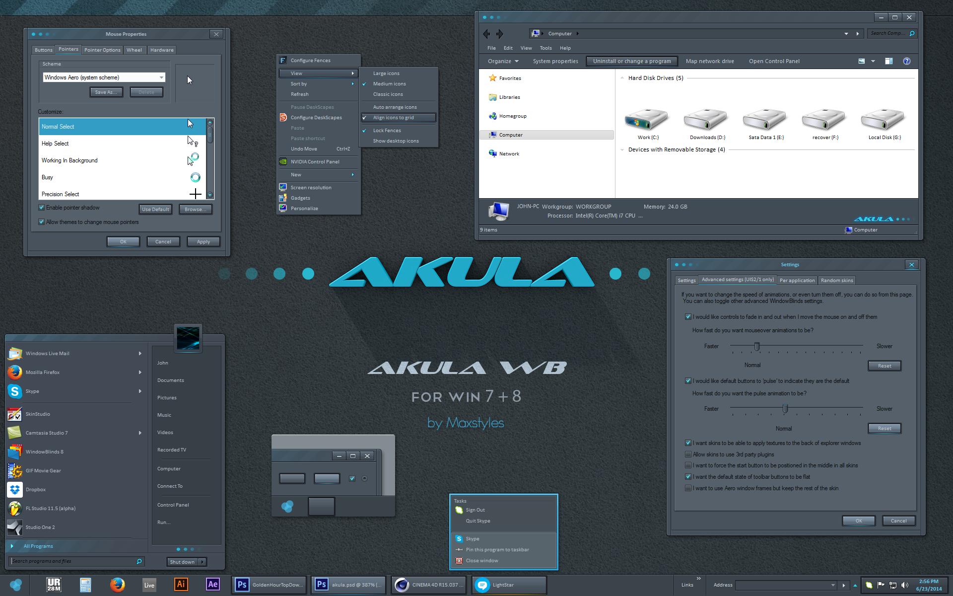 Akula WB for 7 + 8