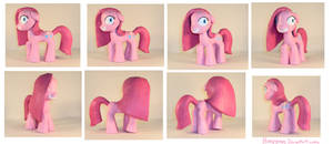 MLP:FiM -  Pinkamena Figure by honeygrove