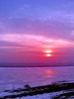 winter_sunset by victor23081981