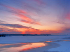 winter_sunset_1 by victor23081981