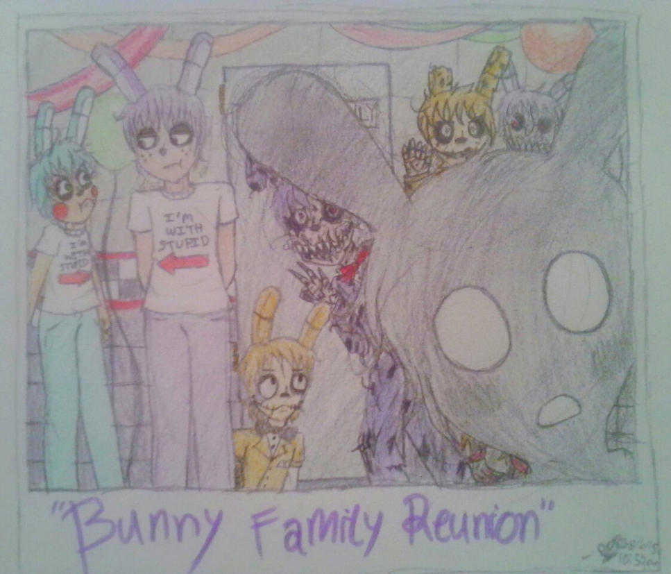 Bunny Family Reunion by CremePuffMarshmallow