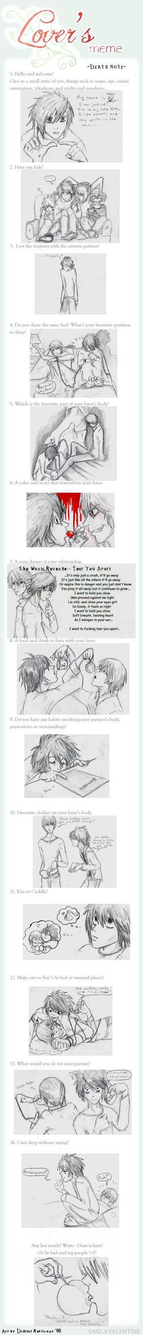 L x Light -Death Note meme- by digitalreplicant