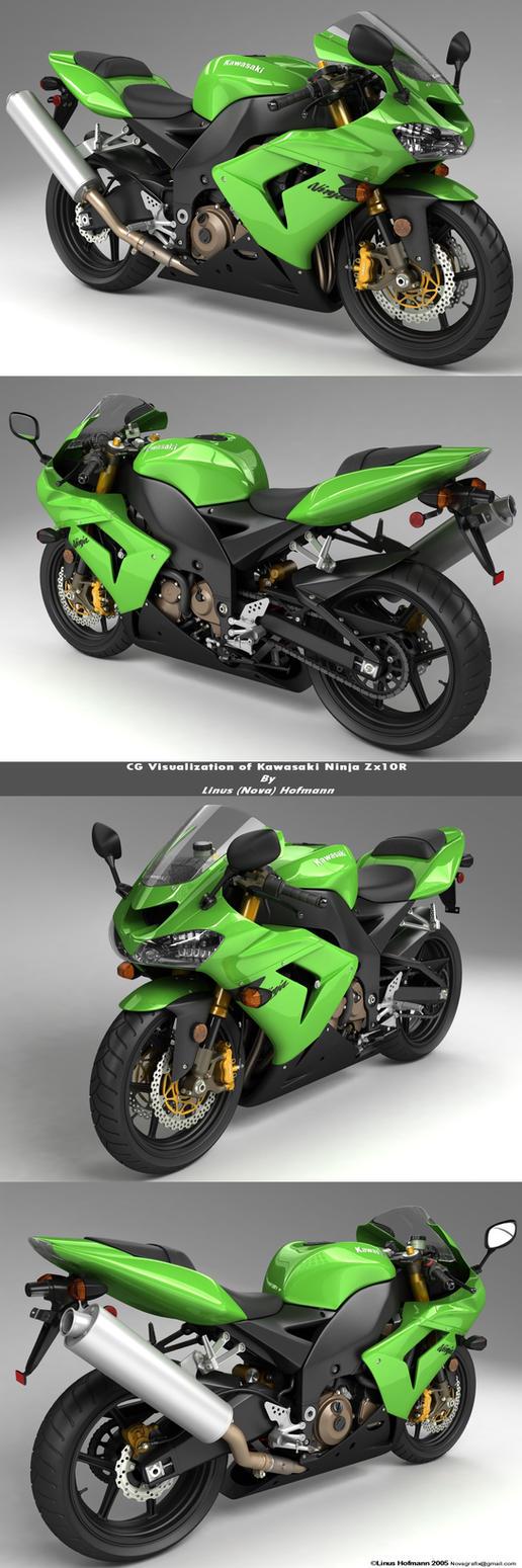 Kawasaki Ninja Zx10r Final All by lhnova