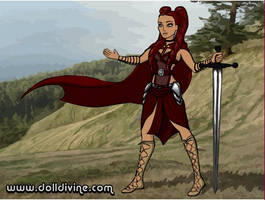 The Warrior Princess Tatyana by fanfictionaxis