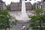 Obilisk at Dam Square by fanfictionaxis